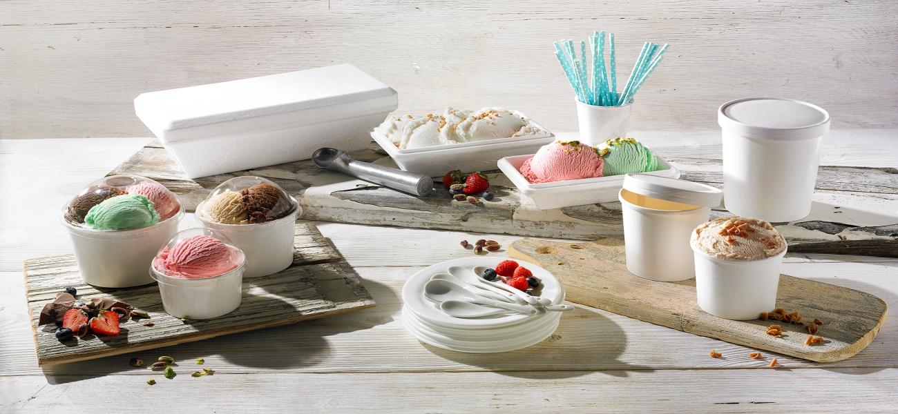 Συσκευασίες για Παγωτά & Γλυκά