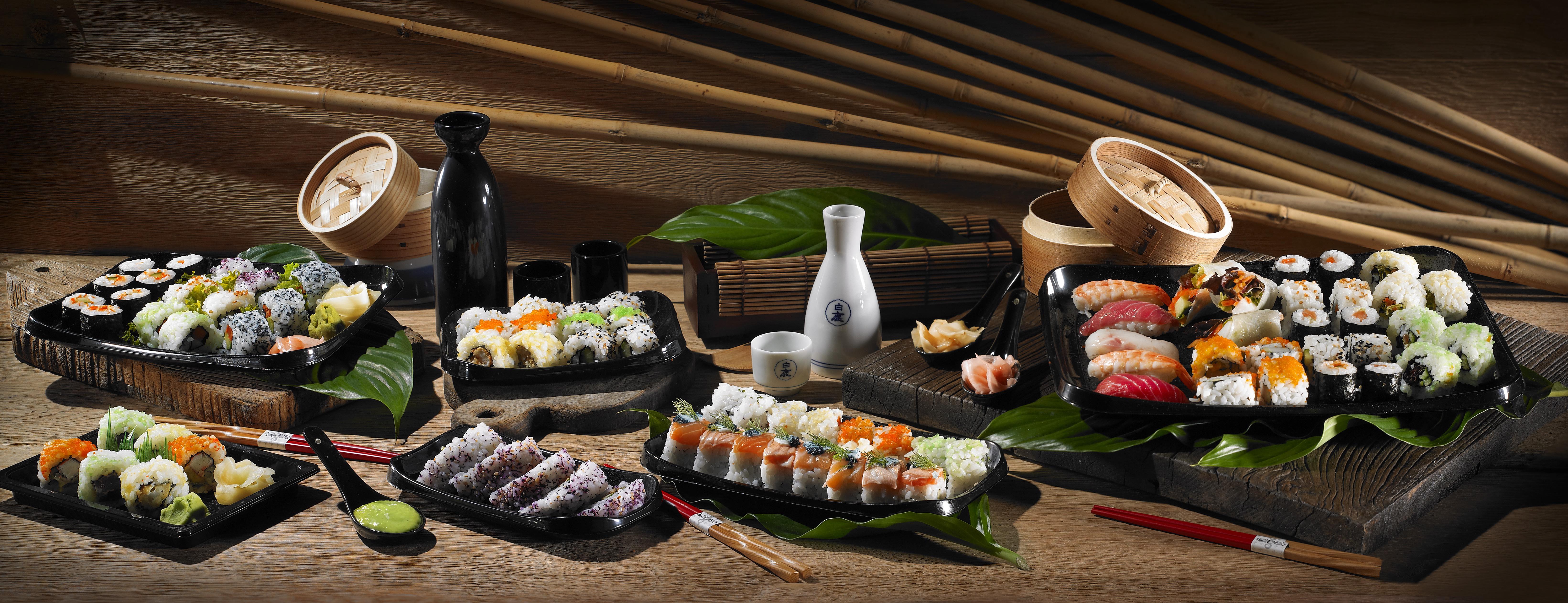 Συσκευασίες για Sushi