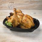 Δοχείο οβάλ για κοτόπουλο με καπάκι set