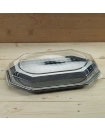 Διαφανές καπάκι για μεγάλη οκτάγωνη πιατέλα SP 45cm