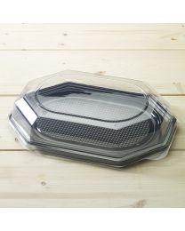 Διαφανές καπάκι για μικρή οκτάγωνη πιατέλα SP 35cm