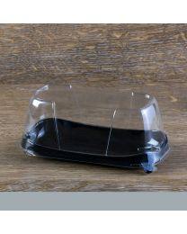 Διαφανές καπάκι extra ψηλό για παραλληλόγραμμο σκεύος 19SKN