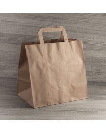 Χάρτινη τσάντα κραφτ μικρή