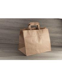 Χάρτινη τσάντα κραφτ x-large