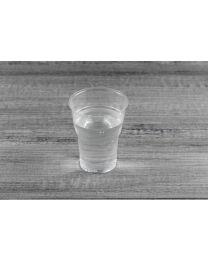 Διαφανές ποτήρι νερού