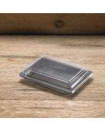 Διαφανές καπάκι για παραλληλόγραμμο σκεύος P17124