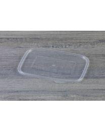 Διαφανές ίσιο καπάκι L17 για σκεύη IP600 & IP750 μαύρα & λευκά