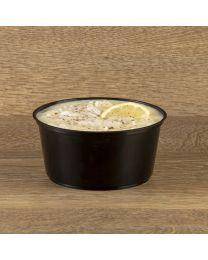 Δοχείο σούπας μαύρο 750ml