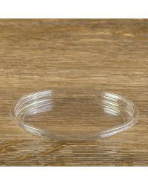 Διαφανές στρογγυλό καπάκι για δοχεία DELI