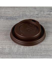 Καφέ καπάκι για χάρτινο ποτήρι 8oz