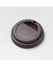 Καφέ καπάκι ίσιο για χάρτινο ποτήρι 10oz, 12oz & 16oz