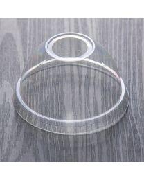 Πομπέ διαφανές καπάκι pet 80 mm με τρύπα