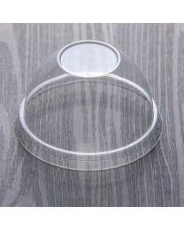 Πομπέ διαφανές καπάκι pet 80 mm κλειστό