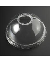 Πομπέ διαφανές καπάκι pet 95mm με τρύπα