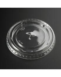 Ίσιο διαφανές καπάκι pet 95mm με σταυρό