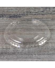 Ίσιο διαφανές καπάκι pet 95mm με flap