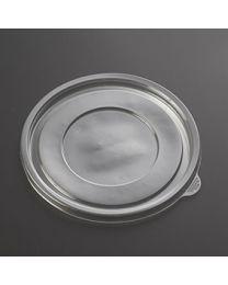 Διαφανές ίσιο καπάκι για σκεύη σαλάτας SB