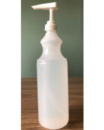 Αντλία για μπουκάλι 1lt για αντισηπτικό gel χεριών
