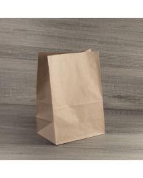 Χάρτινη τσάντα κραφτ μικρή χωρίς χεράκι