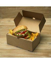 Χάρτινο μεσαίο κουτί μερίδας burger