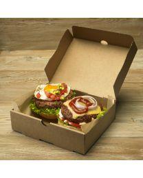 Χάρτινο μεγάλο κουτί μερίδας burger