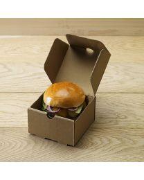 Χάρτινο μικρό κουτί για burger & ορεκτικά