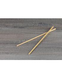 Bamboo chopsticks σε λευκό περιτύλιγμα