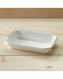 Διαφανές ψηλό ανακυκλώσιμο καπάκι για σκεύη bagasse T055 & T056