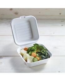 Βιοδιασπώμενο τετράγωνο κουτί small για burger