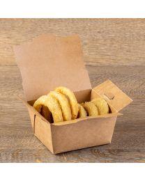 Κουτί kraft lunchbox new small μέγεθος