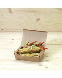 Κουτί kraft mealbox 500ml