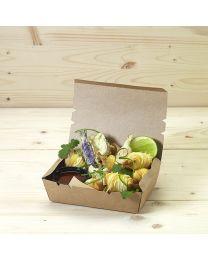 Κουτί kraft mealbox 700ml