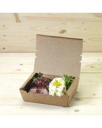 Κουτί kraft mealbox new 900ml