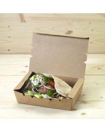 Κουτί kraft mealbox 1200ml