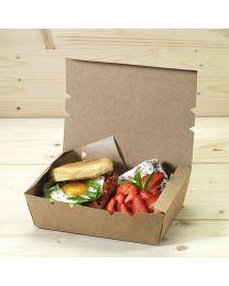 Κουτί kraft mealbox 1600ml
