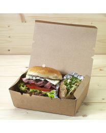 Κουτί kraft mealbox 2100ml