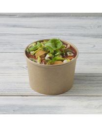 Χάρτινο kraft δοχείο σούπας & noodles 20oz