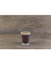 Χάρτινο καφέ mosaic γκοφρέ ποτήρι 8oz