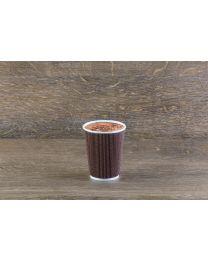 Χάρτινο καφέ mosaic γκοφρέ ποτήρι 12oz