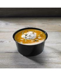 Δοχείο σούπας μαύρο 710ml