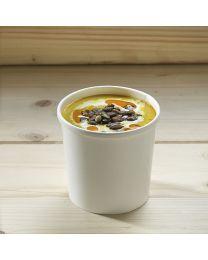 Χάρτινο λευκό δοχείο σούπας & noodles 12oz