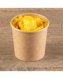 Χάρτινο kraft δοχείο παγωτού υψηλής ποιότητας 26oz