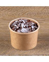 Χάρτινο kraft δοχείο παγωτού υψηλής ποιότητας 8oz