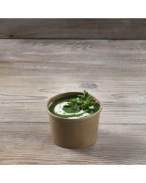 Χάρτινο kraft δοχείο σούπας & noodles 8oz