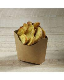 Χάρτινη θήκη για τηγανιτές πατάτες new