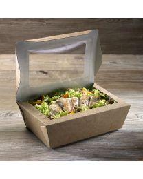 Χάρτινο παραλληλόγραμμο μεγάλο κουτί με παράθυρα