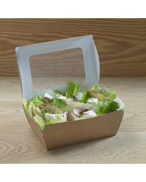 Extra μεγάλο χάρτινο παραλληλόγραμμο μεγάλο κουτί με παράθυρα