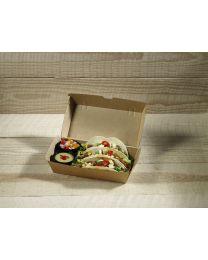 Χάρτινο οικολογικό κουτί για μερίδα