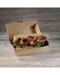 Χάρτινο οικολογικό κουτί για sandwich