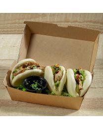 Χάρτινο οικολογικό κουτί για burger & ορεκτικά